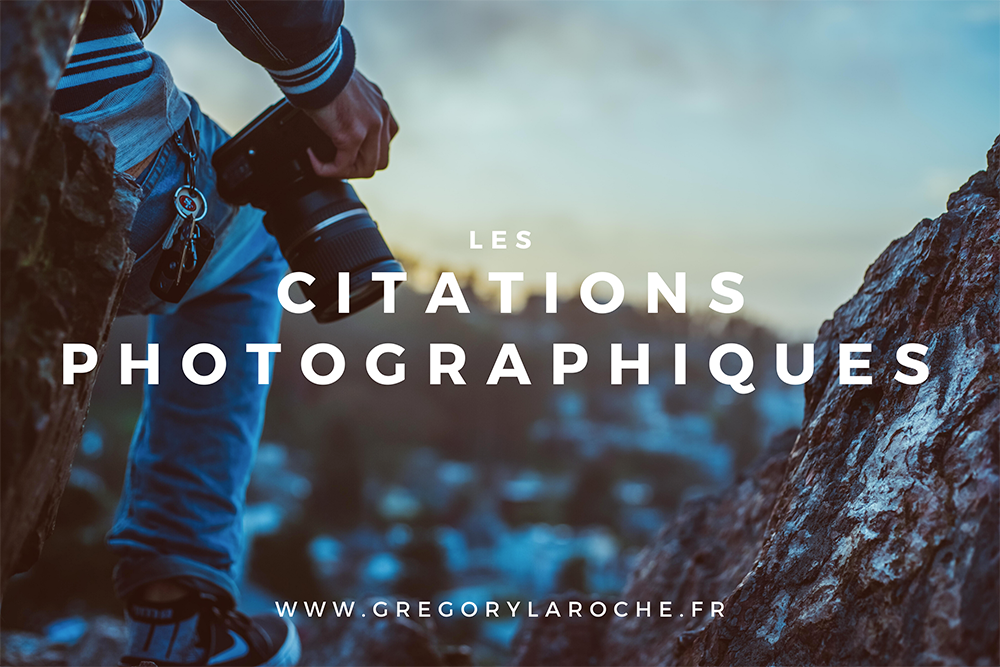 citations sur la photographie